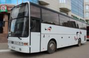 Прокат аренда автобусов в Астане.Спальный салон.